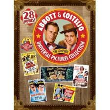 Abbott & Costello: The Complete Universal Pictures Collection 28 Movies DVD New Comedy - FaveShop