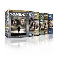 Combat! The Complete Series 1-5 Seasons 1 2 3 4 5 DVD 2013 Box set Brand New - FaveShop