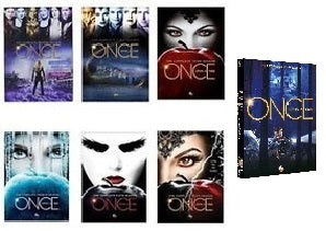Once Upon a Time The Complete Series Seasons 1-7 DVD 2018 Brand New Sealed - FaveShop