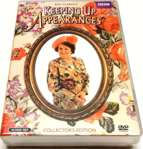 KEEPING UP APPEARANCES COLLECTOR'S EDITION Complete Series DVD 10-Disc Set New - FaveShop