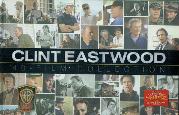Clint Eastwood 40 Film DVD Collection 24-Discs Set