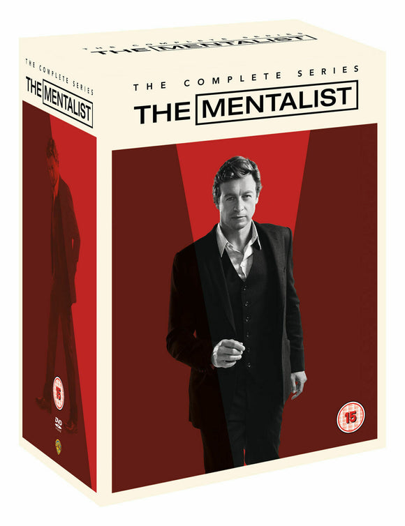 The Mentalist The Complete Series 34-Discs Set DVD Brand New Sealed
