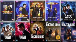 Doctor Who Seasons Series 1-10 Part 1+2 DVD Set Brand New 2017 - FaveShop