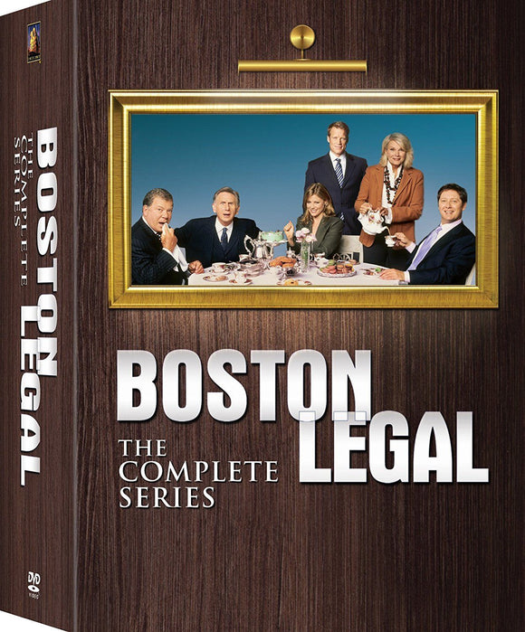 Boston Legal The Complete Series Seasons 1-5 DVD Box Set 2017 Brand New Sealed - FaveShop