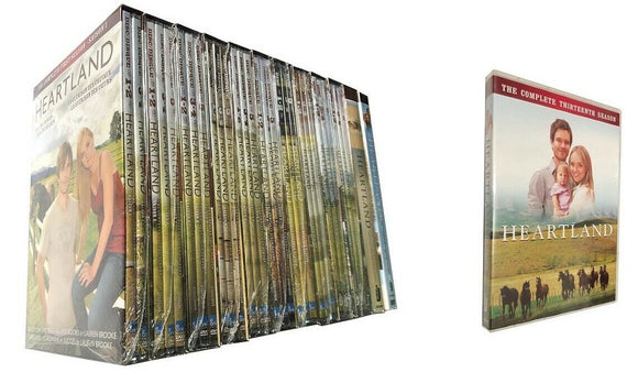 Heartland: The Complete Series Seasons 1-13 DVD 2020 Brand New Box Set Sealed
