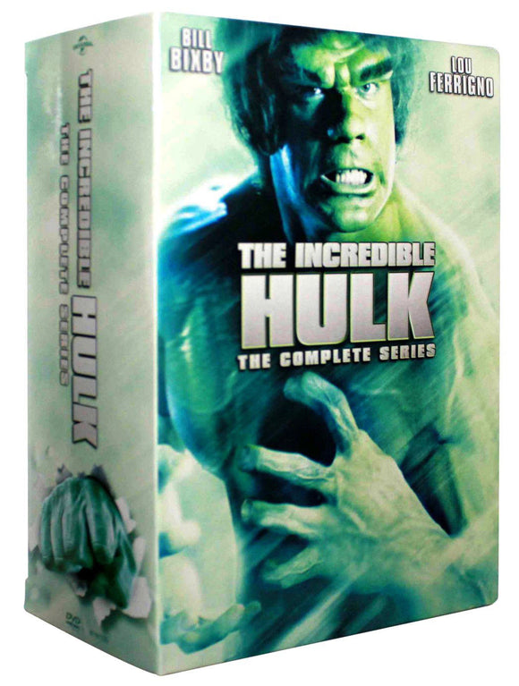 The Incredible Hulk The Complete Series DVD SEASONS 1 2 3 4 5 1-5 Brand NEW - FaveShop