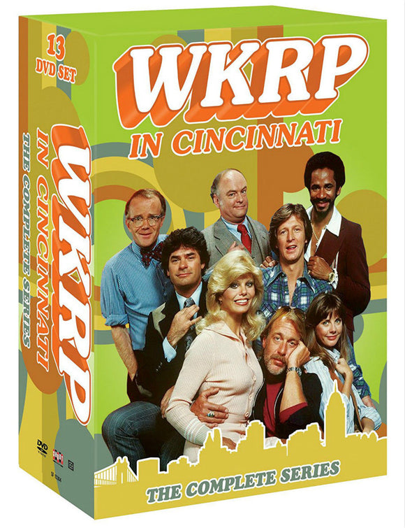 WKRP in Cincinnati The Complete Series 12-Disc Set DVD 2014 Brand New Sealed - FaveShop