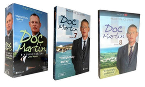 Doc Martin Complete Series Seasons 1-8 DVD Brand New Sealed Comedy - FaveShop