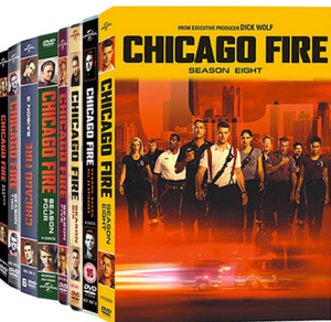 Chicago Fire The Complete Seasons 1-8 1 2 3 4 5 6 7 8 DVD 2020 Brand New Sealed