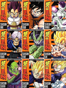 Dragon Ball Z The Complete UNCUT Seasons 1-9 DVD Brand New Sealed - FaveShop