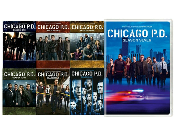 Chicago P.D.: The Complete Series Seasons 1-7 DVD 2020 Box Set Brand New