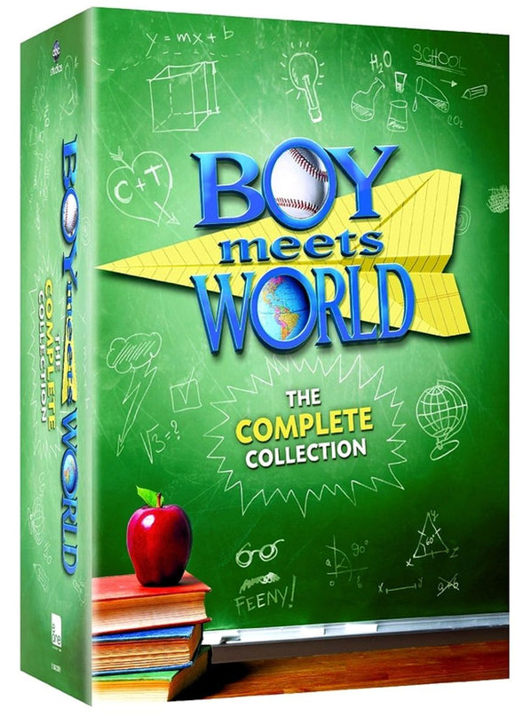 Boy Meets World The Complete Series Collection Seasons 1-7 22-Disc Set DVD Brand New - FaveShop