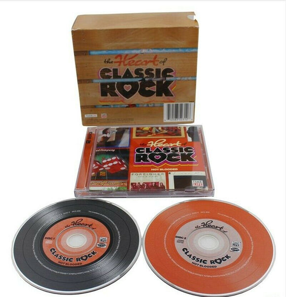 Heart of Classic Rock Box Set Time Life 10 CD 144 Hits BRAND NEW SEALED - FaveShop