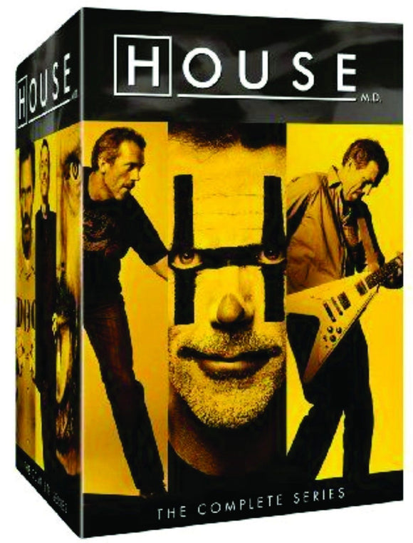 HOUSE MD: The Complete Series 41-Disc Set DVD 2012 Brand New Factory - FaveShop
