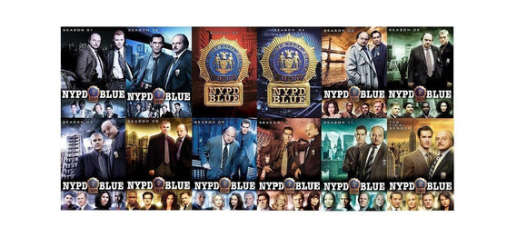 NYPD Blue Complete Series Seasons 1-12 DVD Brand New Sealed - FaveShop