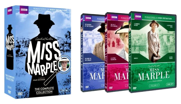 Miss Marple: The Complete Collection DVD 9-Disc Set 2015 Brand New Sealed - FaveShop