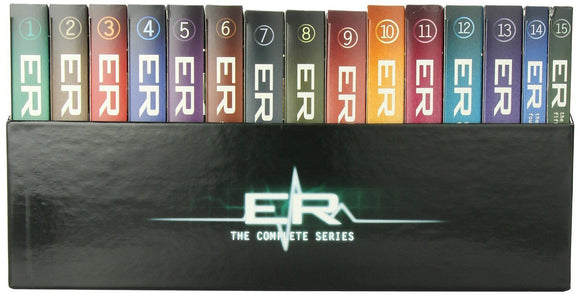 ER (Emergency Room): The Complete TV Series Seasons 1-15 DVD NEW & Sealed - FaveShop