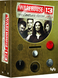 WAREHOUSE 13: The Complete Series Collection Seasons 1-5 DVD Box Set 2014 Brand - FaveShop