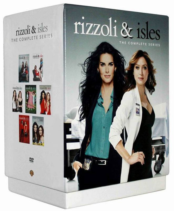 Rizzoli & Isles The Complete Series Seasons 1-7 DVD 2017 Brand New Sealed - FaveShop