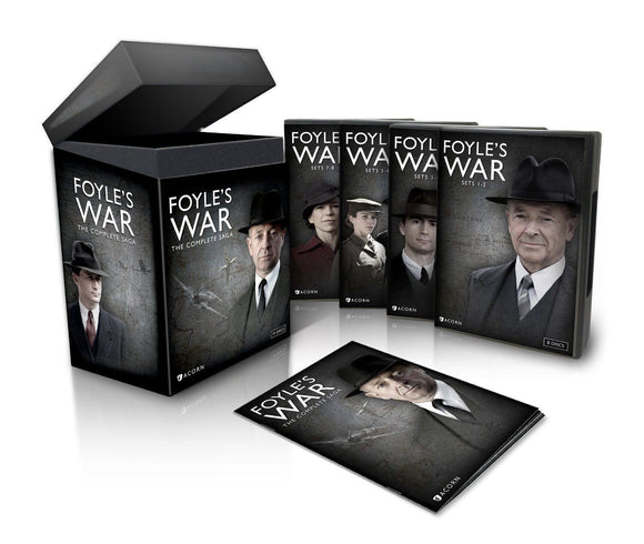 FOYLE'S WAR The Complete Saga Seasons 1-8 1 2 3 4 5 6 7 8 29-Discs Set DVD New - FaveShop
