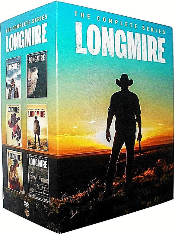 Longmire Complete Series Seasons 1-6 DVD 2018 Brand New - FaveShop
