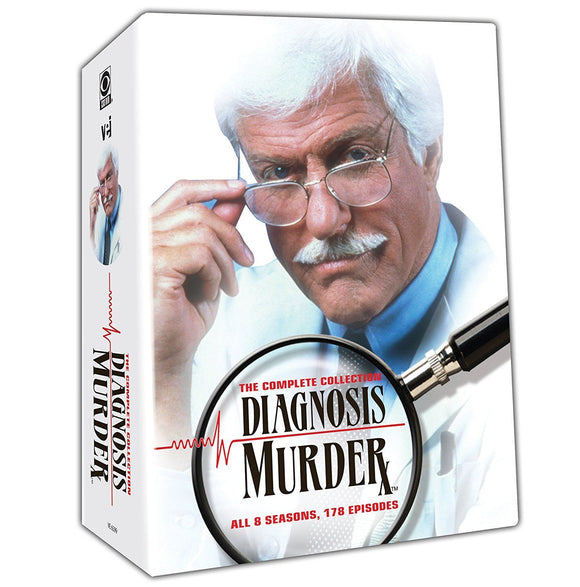 Diagnosis Murder Complete Series Seasons 1-8 32-Discs Set DVD Brand New Sealed - FaveShop