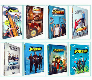 Impractical Jokers: Complete Series Seasons 1-8 DVD 2020 Brand New