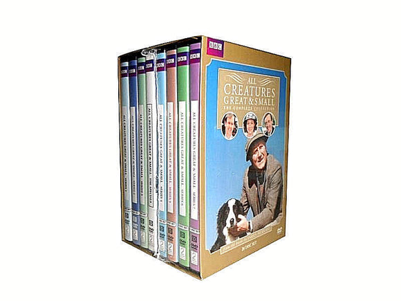 ALL CREATURES GREAT AND SMALL Complete Series 28-Discs Set DVD Brand New Sealed