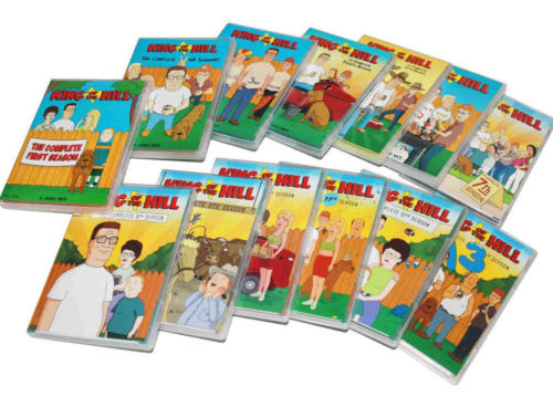 King of the Hill The Complete Series Seasons 1-13 DVD Brand New Sealed