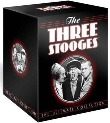 The Three Stooges: The Ultimate Collection DVD 2012 Brand New Sealed - FaveShop