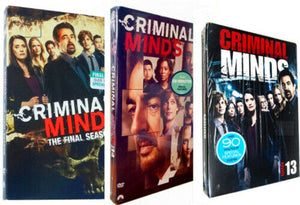 Criminal Minds Seasons 13 14 15 The Complete Series Final DVD 2020 Brand New