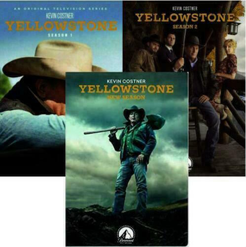 Yellowstone: The Complete Series Collection Seasons 1-3 1 2 3 DVD 2020 Brand New