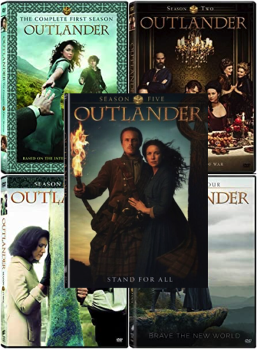 Outlander The Complete Seasons 1-5 DVD 2020 Brand New Sealed
