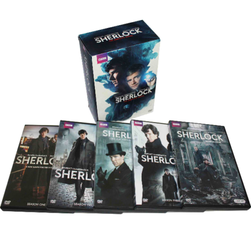 Sherlock The Complete Series Seasons 1-4 1 2 3 4 DVD 2017 Brand New - FaveShop
