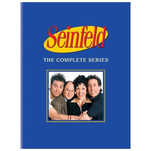 Seinfeld The Complete Series Seasons Box Set 33-Disc Set DVD 2013 BRAND NEW