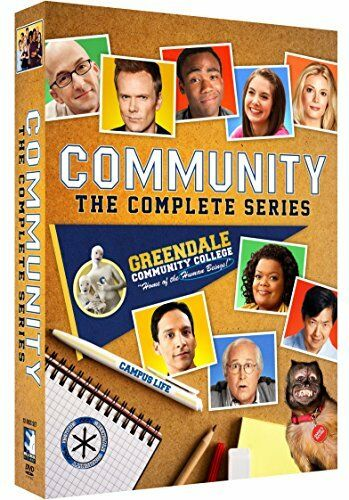 Community: The Complete Series Season 1-6 1 2 3 4 5 6 DVD 2018 Brand New