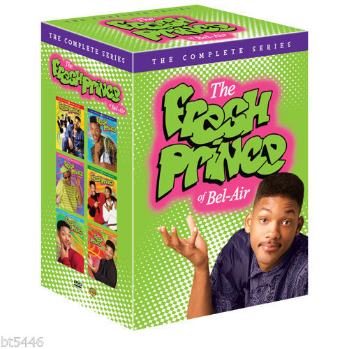 The Fresh Prince of the Bel-Air: Complete Series Seasons 1-6 DVD BOX SET - FaveShop
