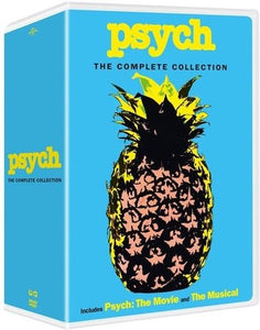 Psych: The Complete Series Seasons 1-8 DVD Box Set Brand New - FaveShop