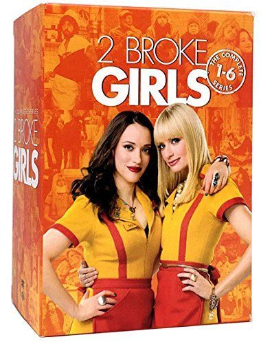 2 Broke Girls Complete Series Seasons 1-6 17-Discs Set DVD 2018 Brand New - FaveShop