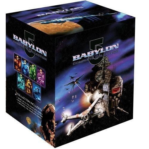 Babylon 5 Complete Collection TV Series + Movie Collection + Crusade DVD NEW - FaveShop