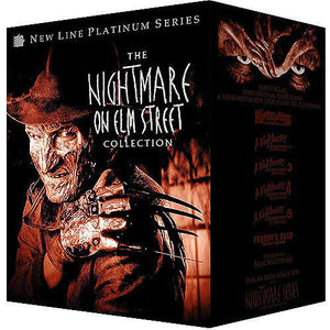 The Nightmare on Elm Street Collection DVD 8-Disc Brand New - FaveShop