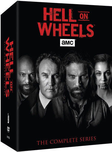 Hell On Wheels: The Complete Series DVD 2016 Brand New - FaveShop