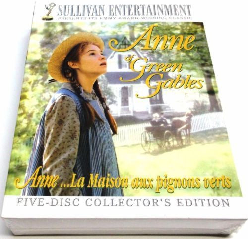 ANNE OF GREEN GABLES The Trilogy Collection 1-7 DVD 2008 Brand New - FaveShop