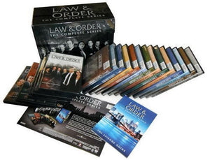 Law and Order: The Complete Series DVD 104-Disc Set 2011 Seasons 1-20 Brand New - FaveShop