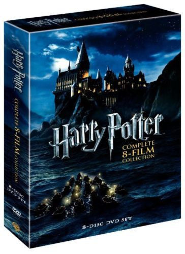 Harry Potter: Complete 8-Film Collection DVD 2011 8-Disc Set NEW BOX SET - FaveShop