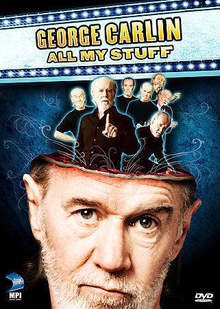 George Carlin - All My Stuff 14-Discs Set DVD 2007 Brand New Sealed - FaveShop
