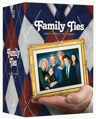 Family Ties The Complete Series Seasons DVD 2014 Brand New - FaveShop