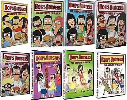 Bob's Burgers Bobs TV Series Complete Seasons 1-8 1 2 3 4 5 6 7 8 DVD Brand New - FaveShop