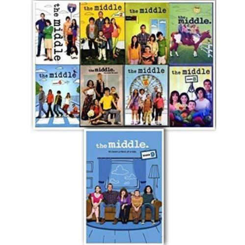 The Middle Complete Series Seasons 1-9 DVD 2018 Brand New Sealed