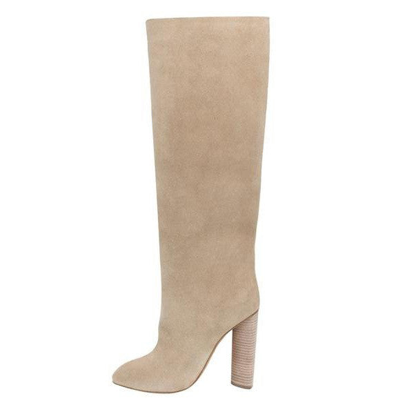 ICONIC TALL SUEDE BOOT ROCK